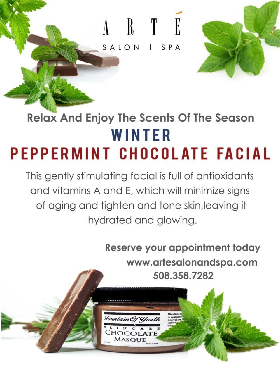 Peppermint Chocolate Facial